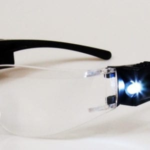 LED eye protection